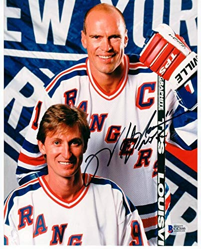 Mark Messier New York Rangers Autographed Signed 8x10 Beckett Bas ... e98aebba0