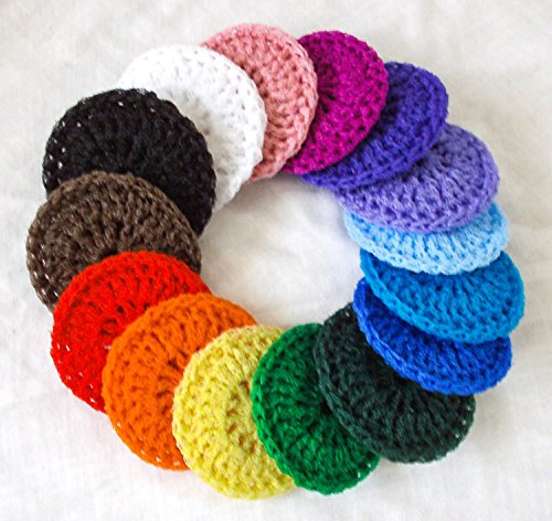 HANDMADE SCRUBBIES Nylon Net Pot Pan Scrubbers SET of FOUR (4)!!!!Perfect for Giving to Self, Family, Friends!!!