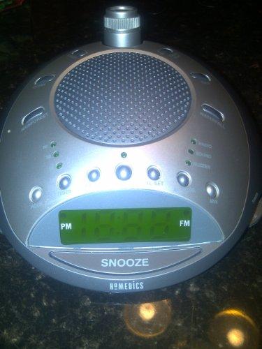 Homedics Ss4000 Soundspa 6 Nature Sounds W/alarm and Radio (Sound Spa Alarm Clock)