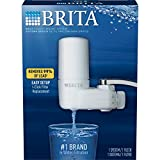 Brita On Tap White Water Faucet Filtration System (Fits Standard Faucets Only) - White (Packaging May Vary)