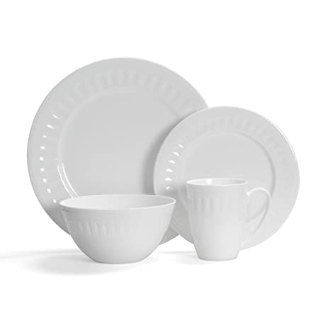 Mikasa Taylor 32 Piece Dinnerware Set Service for 8  sc 1 st  Amazon.com & Amazon.com | Mikasa Taylor 32 Piece Dinnerware Set Service for 8 ...