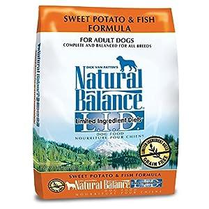 Natural Balance L.I.D. Limited Ingredient Diets Dry Dog Food - Sweet Potato & Fish Formula