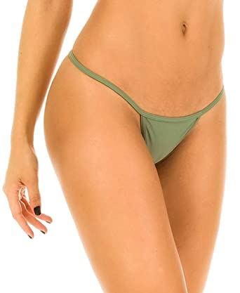2c2ca170fda Amazon.com: THE MESH KING Coqueta Swimwear Sexy Brazilian Teeny Micro Thong  Mini Bikini Swimsuit G String: Clothing