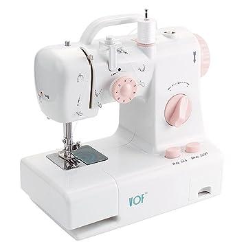 Máquina de coser eléctrica automática del doble del hilo que cose la puntada doble del hilo - Matefielduk: Amazon.es: Hogar