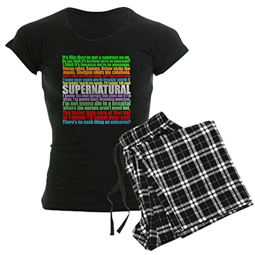 CafePress Supernatural Pajamas Comfortable Sleepwear