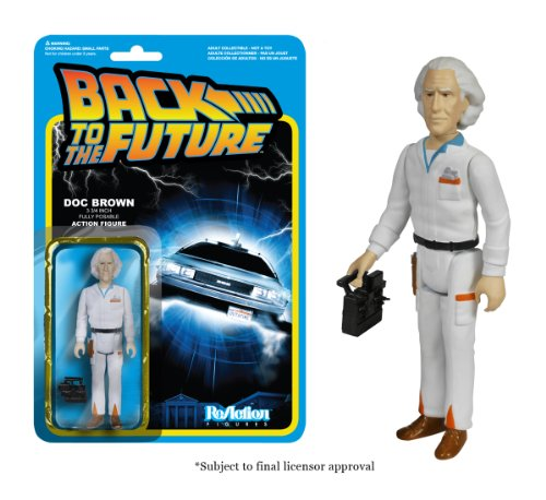 Funko Back to The Future Doc Emmett Brown Reaction Figure -