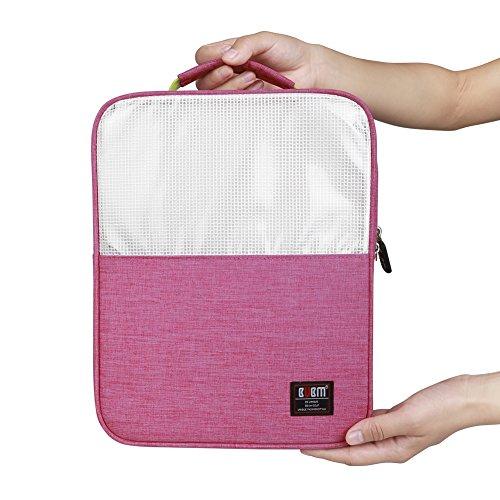 BUBM Schuh Travel Organizer / Schuh Cube-Portable Wasserdichte Schuhtaschen für Outdoor, Workout, Tanzen, Gym - (klein, rosa)