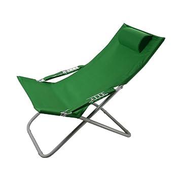 L&J Portátil Plegable sillas, Piscina tumbonas Durable ...