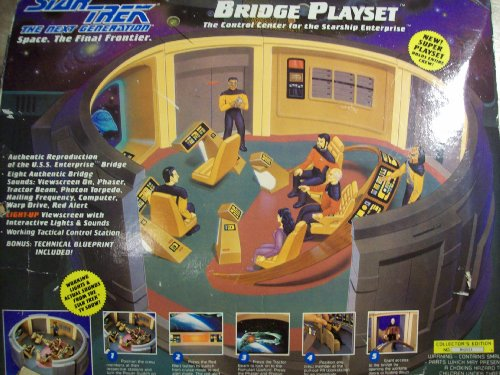 (Star Trek the Next Generation Bridge Playset)