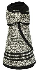 99347971b7857 Karen Keith Paper Braid Wide Brim Roll Up Sun Visor Hat Review ...