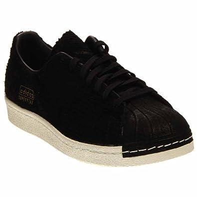 Superstar 80's Clean Mens in Black/Black by Adidas, ...