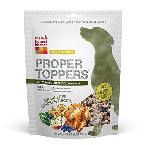 The-Honest-Kitchen-Proper-Toppers-Natural-Human-Grade-Dehydrated-Dog-Superfood-Grain-Free-Chicken-14-oz