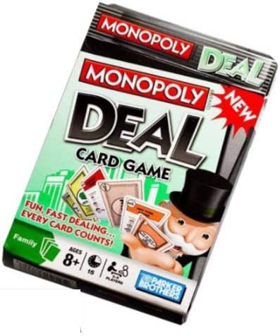 Exclusive Green and Black Packaging Unos Monopoly Deal Card Game