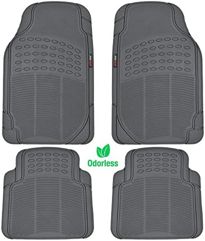 Heavy Duty Weather Protection Mats Custom Autos Vaygway All Weather Floor Mats-Universal 4 Piece Car Interior Rubber Clear Car Plastic Rug