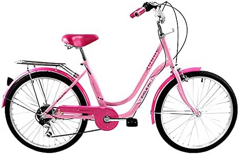 Zycle Fix ZF-PK-24 City Bikes, Pink, 24-Inch Wheel/Frame