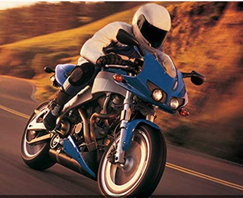 85cm waist WCCI Herren Motorradhose Motorradjeans Kevlar Abriebfeste Aramid Motorcycle Hose Biker Touring Hose Blau, M=33