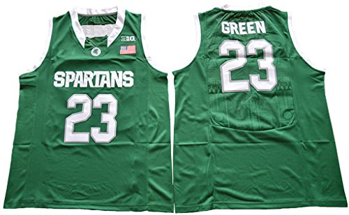 save off 11af9 a957d WEENKS Men's Draymond Green 23 Michigan State Spartans ...