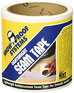 KST COATING - Poly Seam Tape, 4-In. x 50-Ft. roll