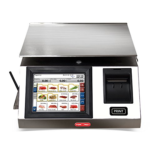 TORREY WLS20/40 Touchscreen Label Printing Scale, 20 kg/40 l