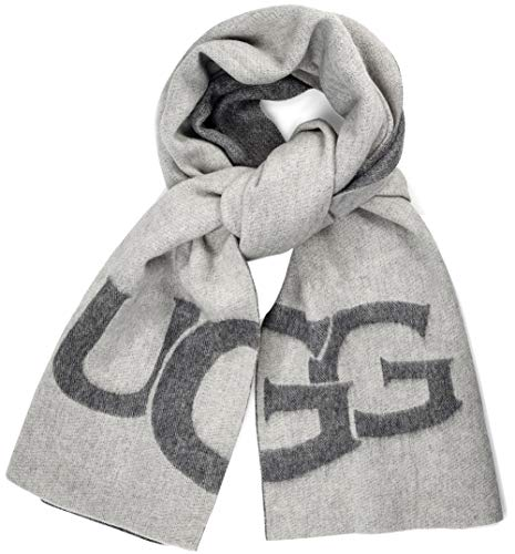 UGG Women's UGG Logo Wrap Light Grey Heather Multi One - Ugg Wrap