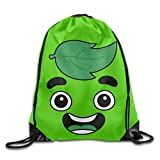 Cheap Unisex Guava Juice Face Sports Drawstring Backpack Bag