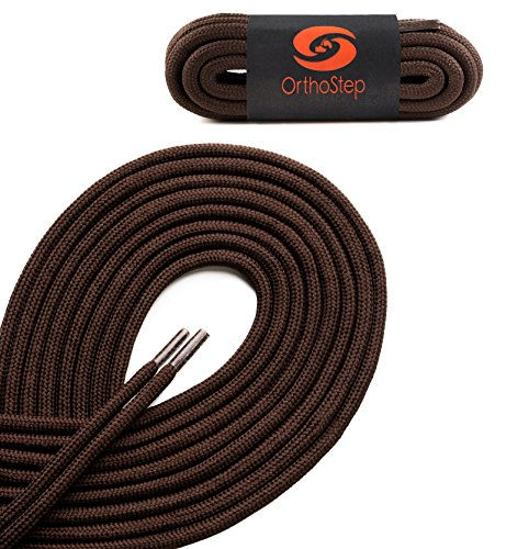 OrthoStep Thick Round Athletic Shoelaces