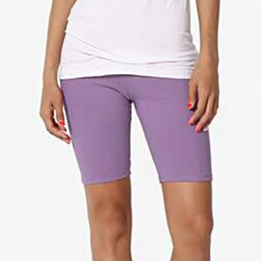 Nicht durchsichtig Sporthose Hohe Taille Aktive Kurze Leggings YBWZH Damen Sport Leggings Yoga Hose Laufhose Fitnesshose Strecken Jogginghose Mesh