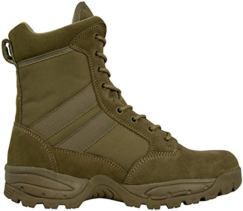 Suede Boot Coyote - Maelstrom TAC FORCE Men's 8'' Boots, Coyote Brown, Size 9M