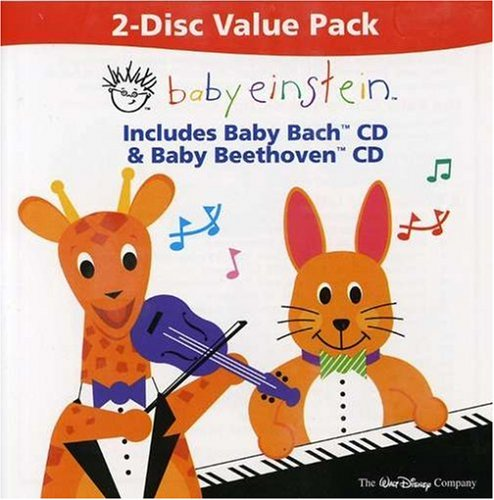 Baby Bach & Baby Beethoven [2 CD] by Baby Einstein