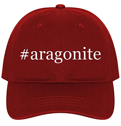 #Aragonite - A Nice Comfortable Adjustable Hashtag Dad Hat Cap, Red, One Size