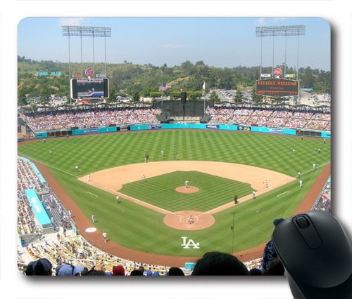 """Custom & Personalized Dodger Stadium Mouse Pads/Mats-Picture Printed Rectangle/Oblong/Oblong Mousepad in 7""""*9"""""""
