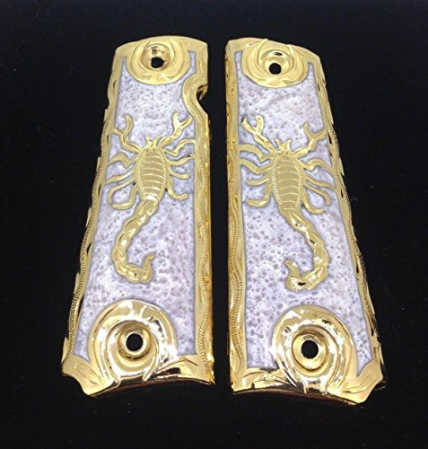 - Blanca's Jewelry 1911 Government Commander Gun Grips Scorpion Cacha