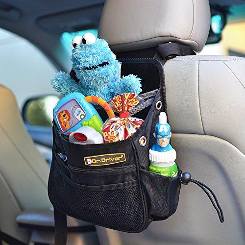 American Trends Auto Back Seat Organizer Holder Multi-Pocket Travel Storage - Order Mail Sunglasses