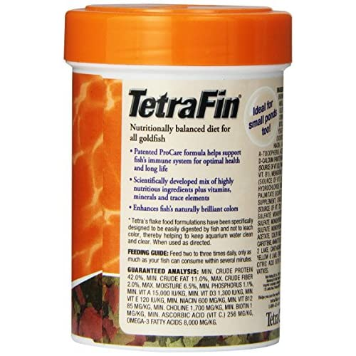 70%OFF TetraFin Balanced Diet Goldfish Flake Food
