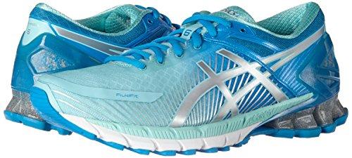 kinsei bleu Aqua Diva 4393 Gel Gymnastique Femme Multicolore Argent Splash De Asics Chaussures 6 Pour zIw1WZpq47