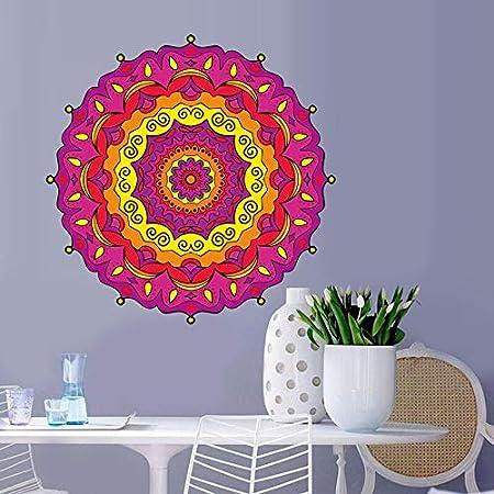 ziweipp Joya de Arte Mandala Etiqueta de La Pared de Vinilo ...