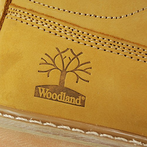 Homme Beige Woodland Woodland Bottes Miel Miel 0XRwxn