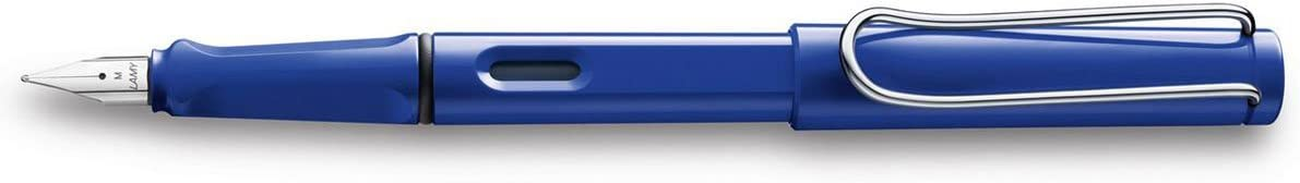 LAMY safari Bold Nib Fountain Pen Blue