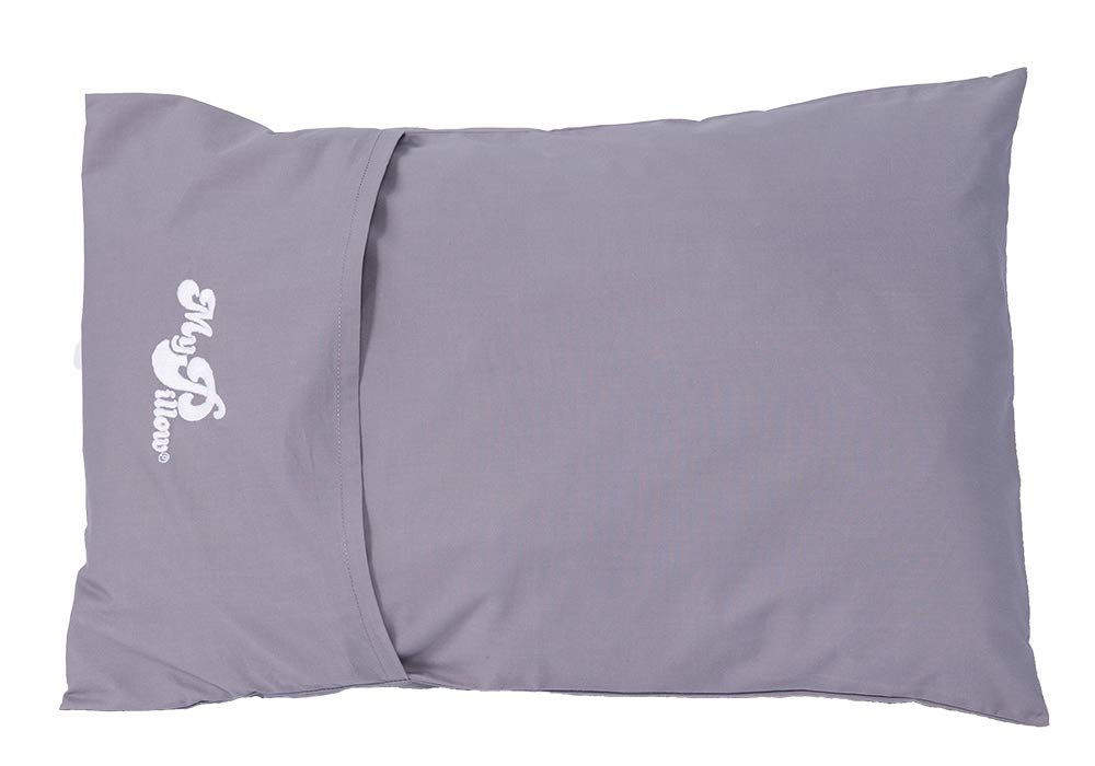 Taupe MyPillow Roll /& GoAnywhere Pillow