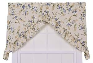 Amazon Com Ellis Curtain Kitchen Collection Willow Floral