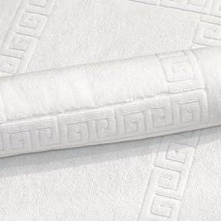 Luxury Hotel / Spa Collection - 4 piece Terry Bath Rug Set (Authentic Greek Key Design), 100% Genuine Turkish Cotton (B003WOAAXS) | Amazon price tracker / tracking, Amazon price history charts, Amazon price watches, Amazon price drop alerts