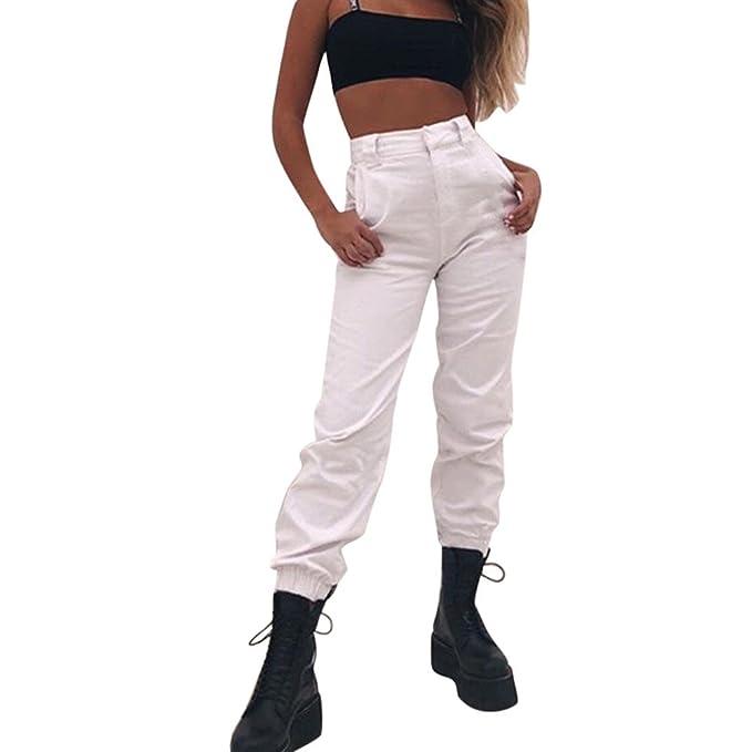 Topgrowth Pantaloni Donna Sportivi Casual Harem Pantaloni da Jogging  Cascante Hip Hop Moda Pantalone da Ballo Sweatpants  Amazon.it   Abbigliamento 78183dab2f2e
