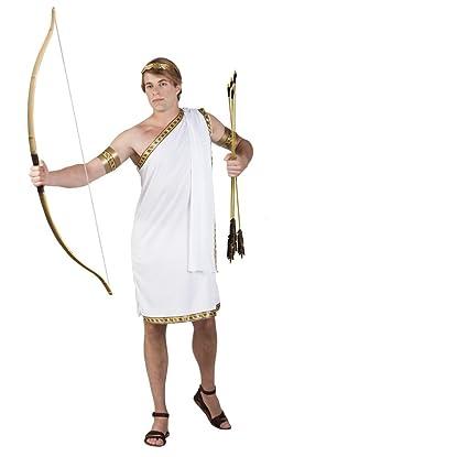 Traje griego Eros. Tamaño: M / L: Amazon.es: Juguetes y juegos
