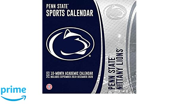 Psu Academic Calendar Fall 2020.Penn State Nittany Lions 2019 2020 Calendar Lang Companies