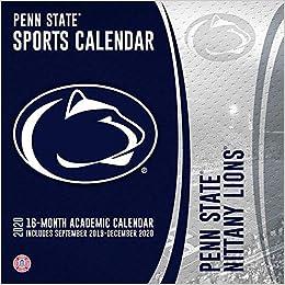 Penn State Christmas Break 2020 Penn State Nittany Lions 2019 2020 Calendar: Lang Companies, Inc