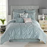 Anthology Whisper Spa Blue Twin Bed Set