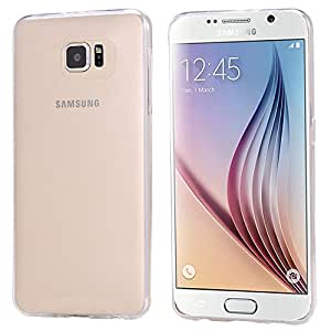 New Arrival Ultra Thin Crystal Clear Soft TPU Gel Case For Samsung Galaxy S6 G9200 Slim Transparent Back Cover For Galaxy S6 --- Color:Pink