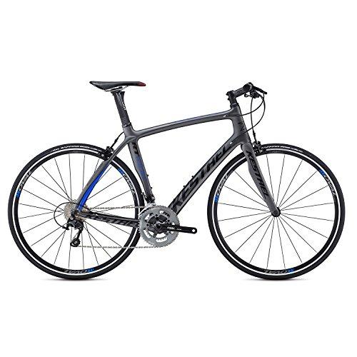 Kestrel RT-1000 Flat Bar Shimano 105 Bicycle, Satin Gray/Blue, 53cm/Medium Advanced Sports International - Bike