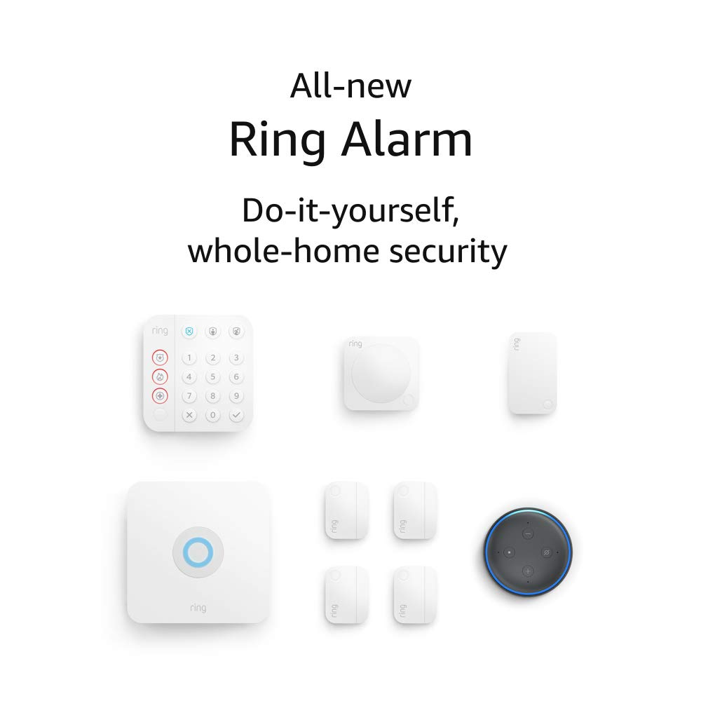 All-new Ring Alarm 8-piece kit (2nd Gen) with Echo Dot