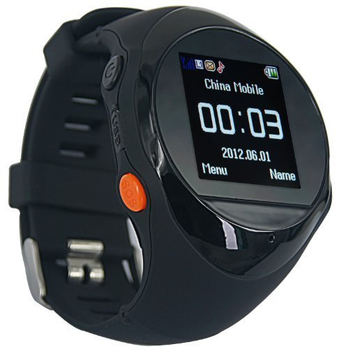 Oxking Mini Child GPS Bracelet GPS Watch Hiking GPS Tracking Device Pg88 Quad-band Handheld GPS Navigation Outdoor Smart GPS Tracker Wrist Watch Activity Tracker Smallest GPS Tracking Chip 1.5